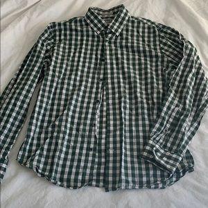 Express fitted men's dress shirt